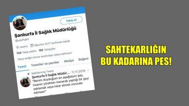 Photo of Şanlıurfa İl Sağlık Müdürlüğü Adına Sahte Hesap Açarak Yanlış Bilgi Yaydılar