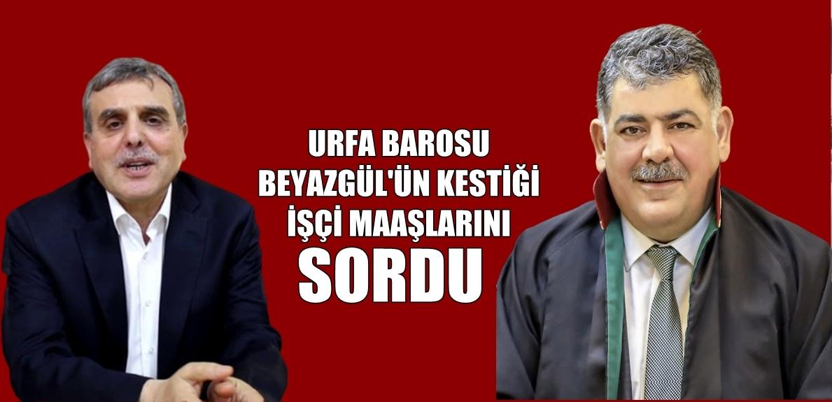Urfa Büyükşehir Belediyesi Koronaya Rağmen 1246 işçinin maaşını her ay kesiyor