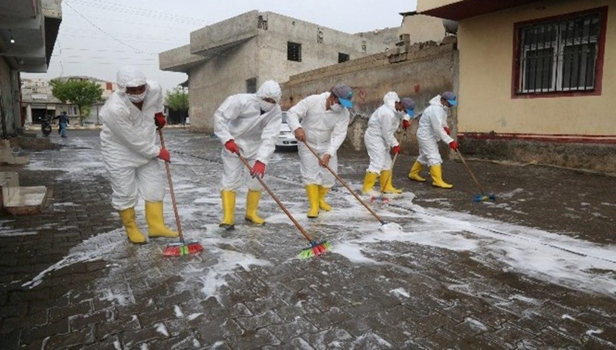 Eyyübiye'de Dezenfekte Çalışmaları Devam Ediyor