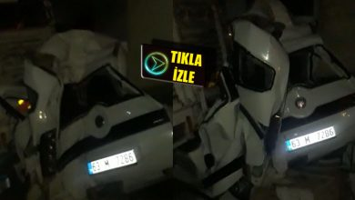 Photo of Son Dakika! Şanlıurfa'da Kaza! Araba Pert Oldu