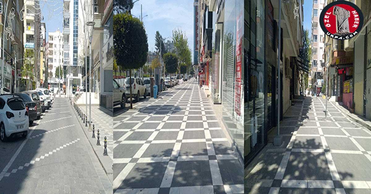 Şanlıurfa Boş Sokaklar