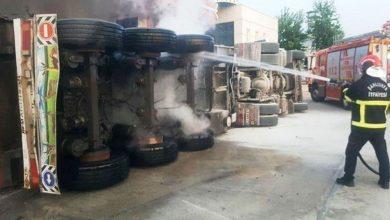 Photo of Şanlıurfa'da Facia! Tır Petrole Daldı