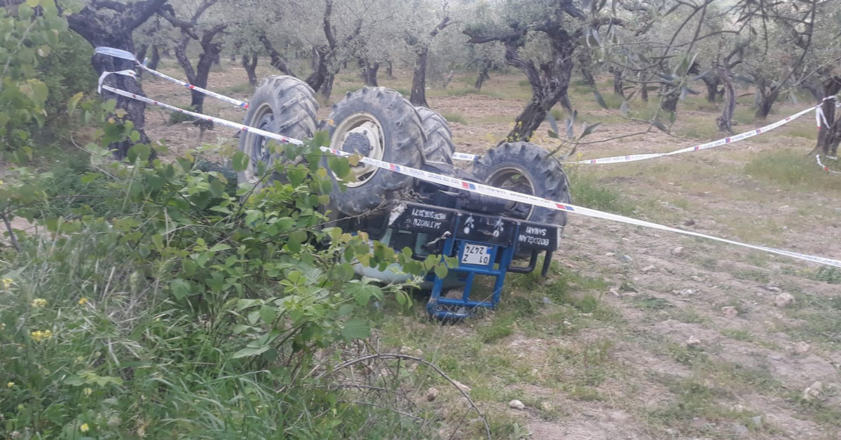 Traktör Kazası
