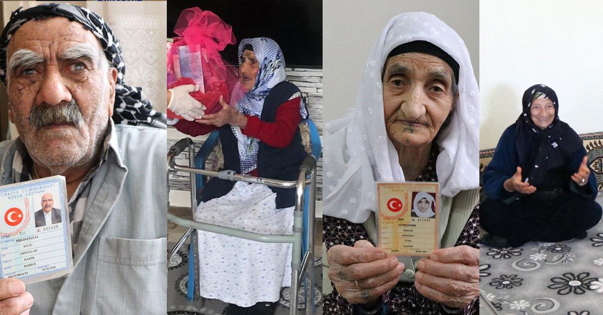 Şanlıurfa'da 100 Yaşında Girenlere Sürpriz Doğum Günü
