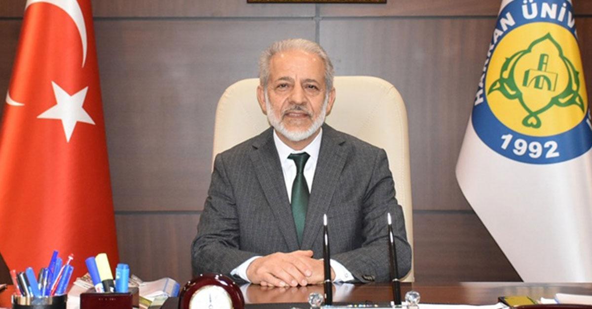 Harran Üniversitesi Rekötür Mehmet Sabri Çelik