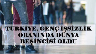 Photo of Türkiye Genç İşsizlikte Dünya Zirvesine Çıktı