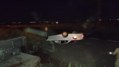 Photo of Devrilen Otomobildeki 3 Kişi Yaralandı