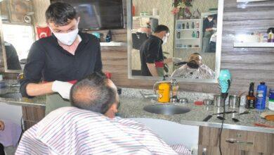 Photo of Akçakale Berberlerinde Korona Yoğunluğu Yaşanıyor