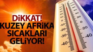 Photo of Kuzey Afrika Sıcakları Geliyor