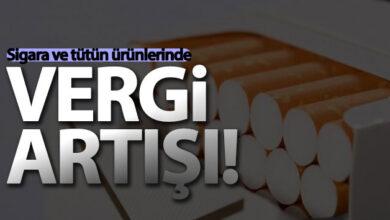 Photo of Sigarada ve Diğer Türün Ürünlerinde ÖTV artışı
