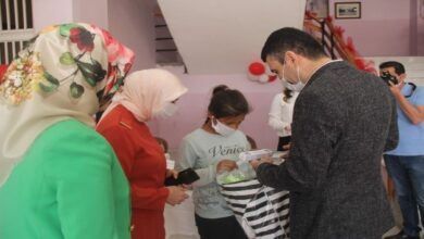 Photo of Urfa'da Yetim Çocukları Bayram Hediyesi Sevinci