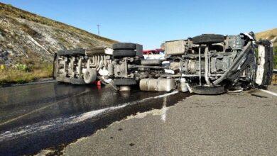 Photo of Urfa'da İki Ayrı Tanker Kazası Yaşandı