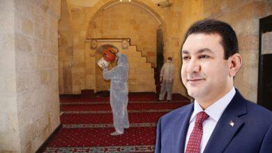 Photo of Harran Belediyesi Camileri İbadete Hazırlıyor