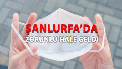 Photo of Şanlıurfa'da Maske Takma Zorunlu Hale Getirildi