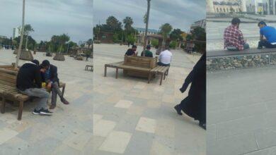 Photo of Topçu Meydanında Sosyal Mesafe Kuralı Tanımadılar