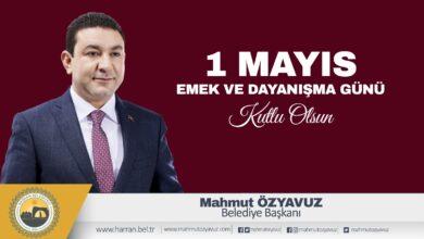 Photo of Özyavuz: 1 Mayıs Bayramı nedeniyle bir mesaj yayımladı
