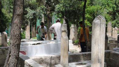 Photo of Şanlıurfa'da Duyan Mezarlığa Koştu