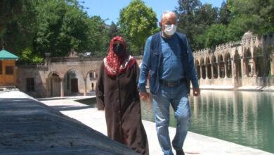 Photo of Yaşlılar Balıklıgöl'e akın etti