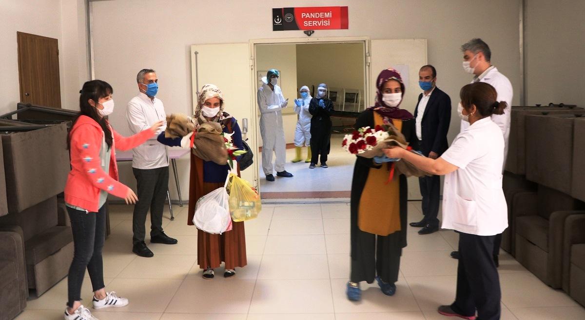 Urfa'da Koronavirüsü Yenen 5 Kişi Taburcu Oldu
