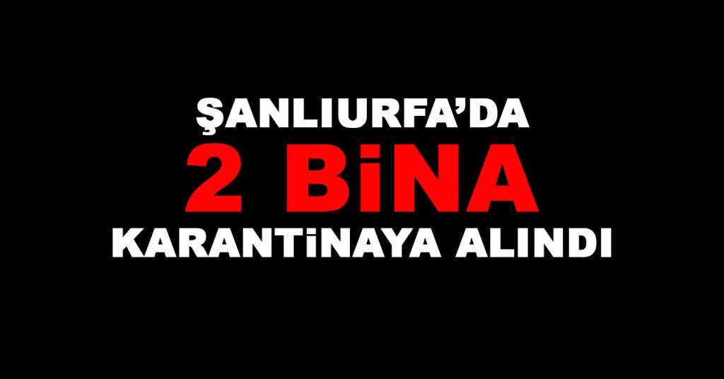 Şanlıurfa Karantina
