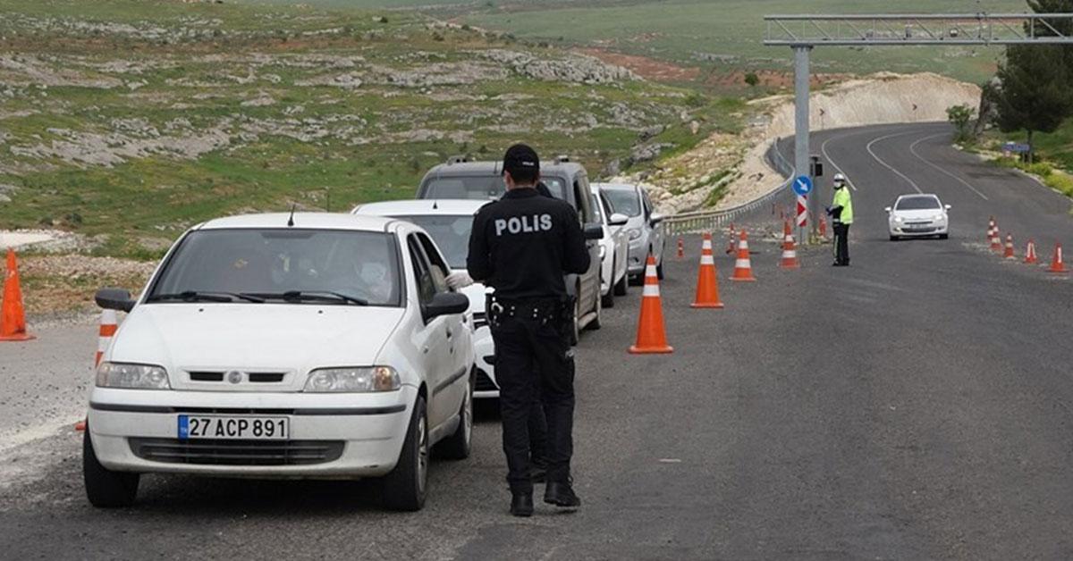 Şanlıurfa'da Korona Virüz Cezası