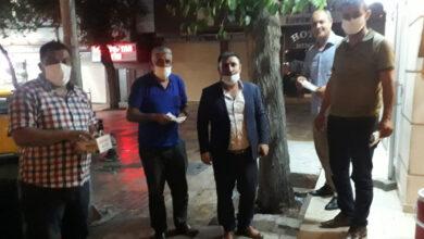 Photo of Başkan Karadaş, Taksiclere Maske Dağıttı