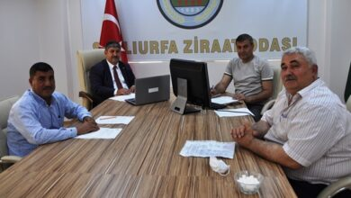 Photo of Urfa Ziraat Odası Açıkladı