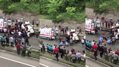 Photo of Kaza yapan Dolmuşta Can Pazarı Ölü ve Yaralılar Var