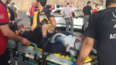 Photo of Şanlıurfa'da trafik kazası: 5 yaralı