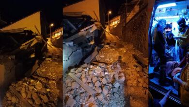 Photo of Patlayan tüp evlerini başlarına yıktı