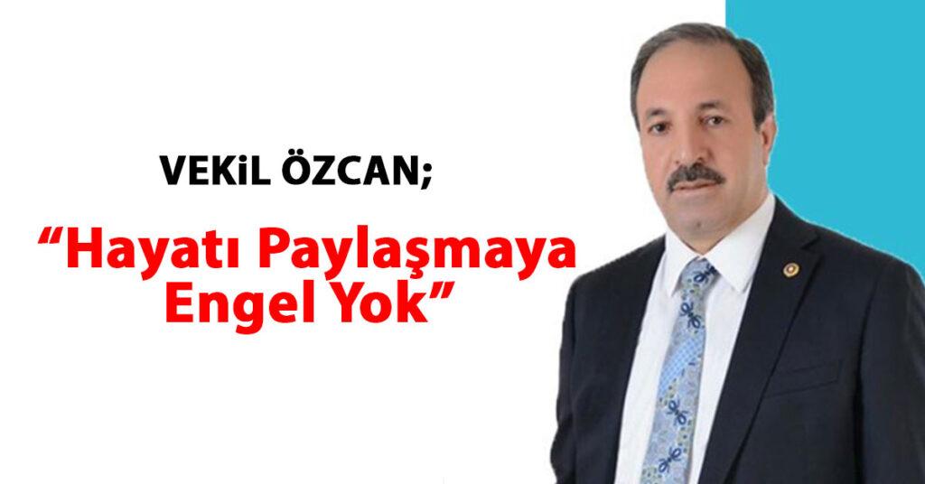 Şanlıurfa Ak Parti Milletvekili Halil Özcan