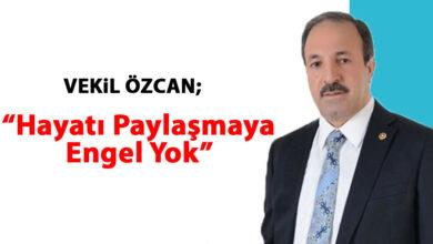 Photo of Urfa Milletvekili Özcan: Hayatı Paylaşmaya Engel Yok