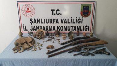 Photo of Şanlıurfa'da Tarihi Eserler Ele Geçirildi