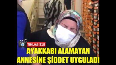 Photo of Ayakkabı Alamayan Annesini Dövdü