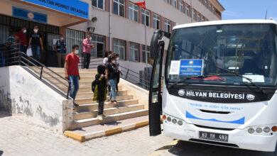 Photo of Hilvan Belediyesi'nden Öğrencilere Özel Sınav Servisi