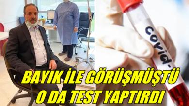 Photo of Özcan Koronavirüs Testi Yaptırdı: Sonucu Ne Çıktı