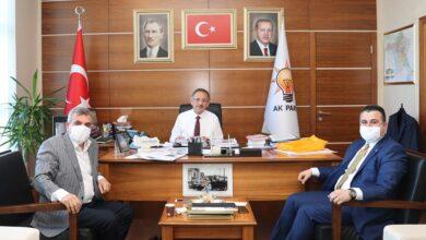 Photo of Beyazgül, Özhaseki'yi Ziyaret Etti