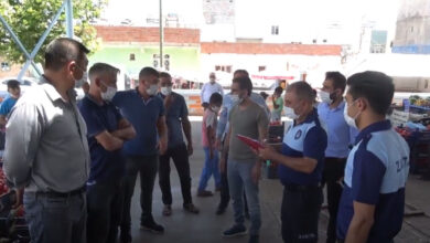 Photo of Ceylanpınar'da Semt Pazarları Denetlendi