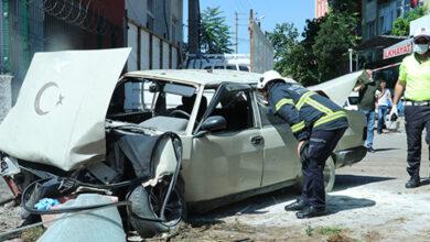 Photo of Freni patlayan otomobil sağlık ocağına uçtu