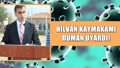 Photo of Hilvan Kaymakamı Furkan Duman Virüse Karşı Uyardı