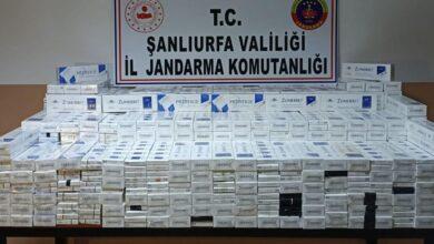 Photo of Urfa'da Kaçak Sigara Operasyonu: Gözaltılar Var