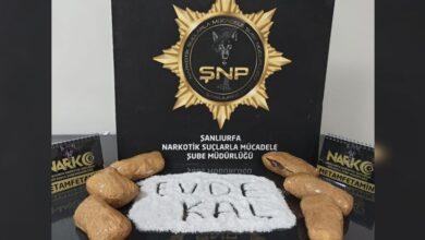 Photo of Şanlıurfa'da 3 Kilo Metamfetamin Ele Geçirildi