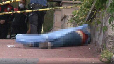 Photo of 1 Çocuk Annesi Kadın Sokak Ortasında Öldürüldü