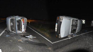 Photo of Şanlıurfa'da Kaza! Otomobil Takla Attı! 3 Yaralı