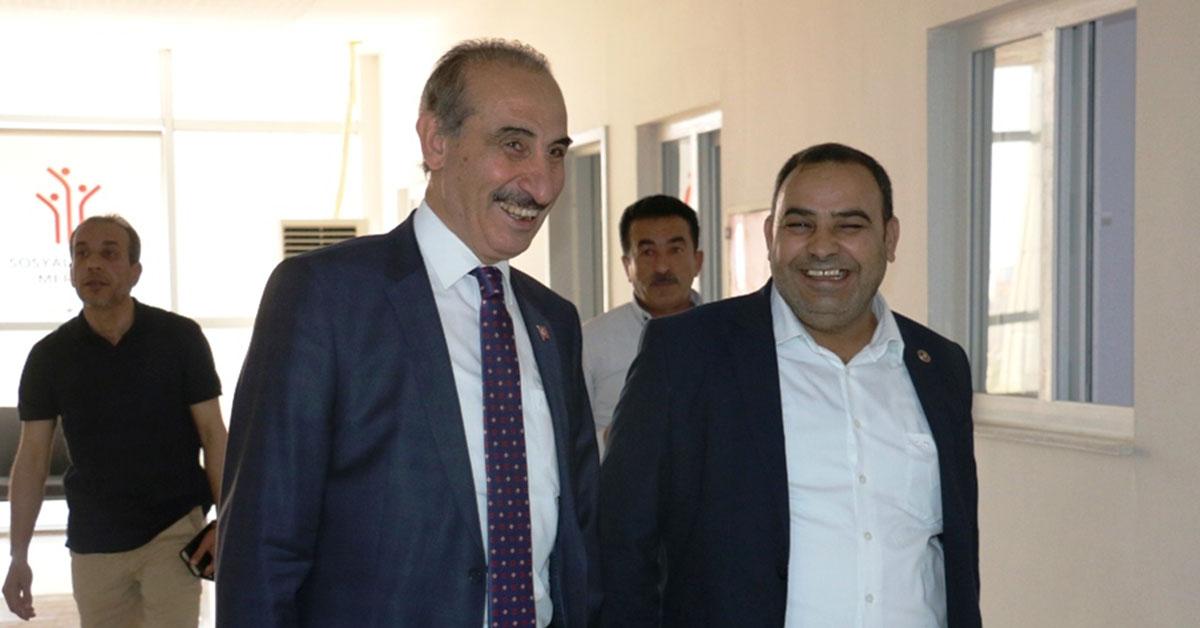 Akçakale Belediye Başkanı Mehmet Yalçınkaya