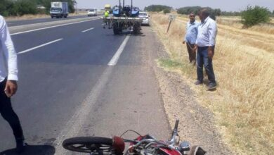 Photo of Şanlıurfa'da Motosiklet ile Tır Çarpıştı! 1 Yaralı