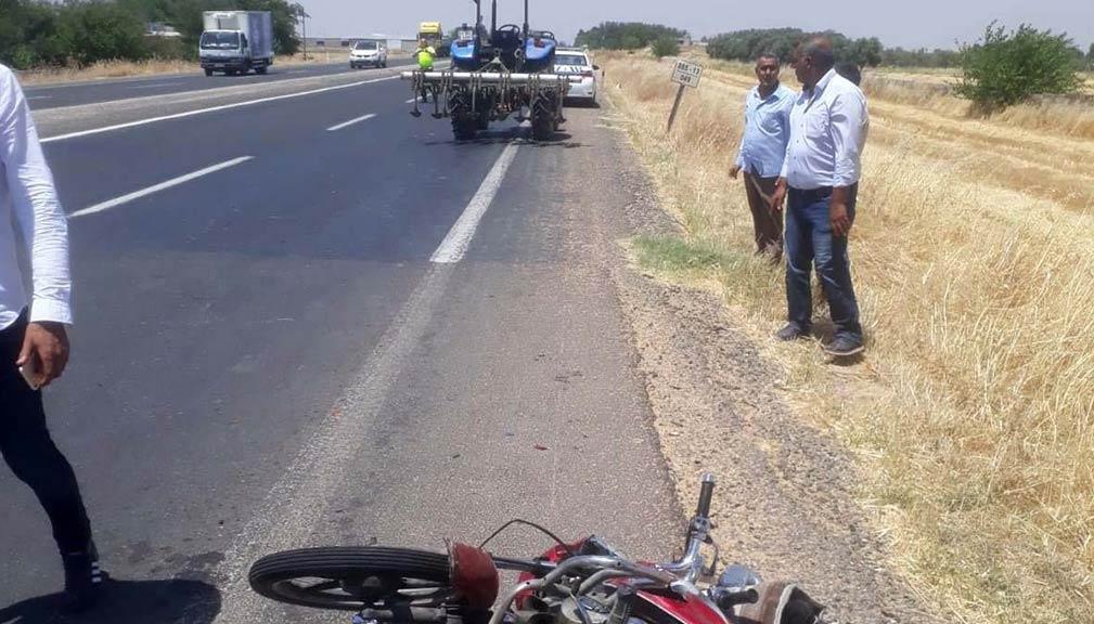 Motosiklet Kazası Şanlıurfa