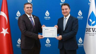 Photo of DEVA Partisi Şanlıurfa İl Başkanı Tüysüz Oldu