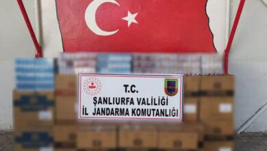 Photo of Şanlıurfa'da On Binlerce Paket Sigara Ele Geçirildi