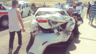Photo of Fırat Köprüsü'nde zincirleme kaza: 4 yaralı